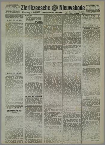 Zierikzeesche Nieuwsbode 1930-05-14