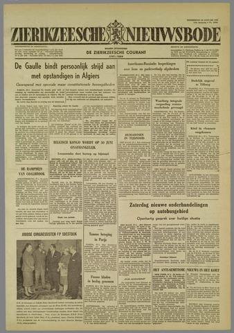 Zierikzeesche Nieuwsbode 1960-01-28