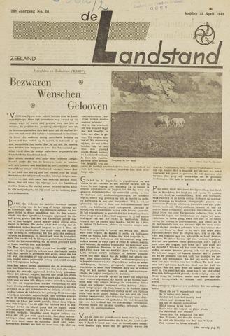 De landstand in Zeeland, geïllustreerd weekblad. 1943-04-23