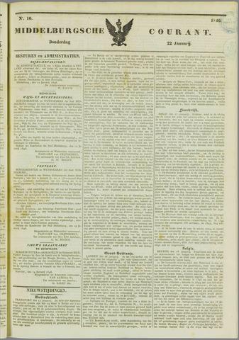 Middelburgsche Courant 1846-01-22