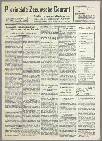 Provinciale Zeeuwse Courant 1940-06-21