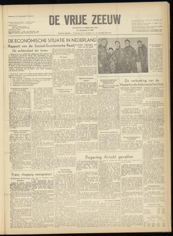 de Vrije Zeeuw 1956-02-21