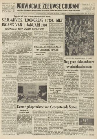 Provinciale Zeeuwse Courant 1959-11-19