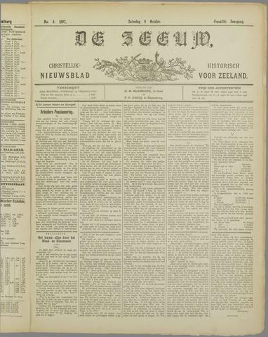 De Zeeuw. Christelijk-historisch nieuwsblad voor Zeeland 1897-10-09
