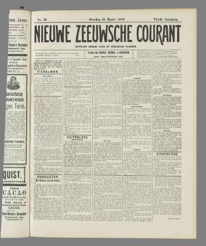 Nieuwe Zeeuwsche Courant 1908-03-31