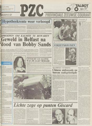 Provinciale Zeeuwse Courant 1981-05-06