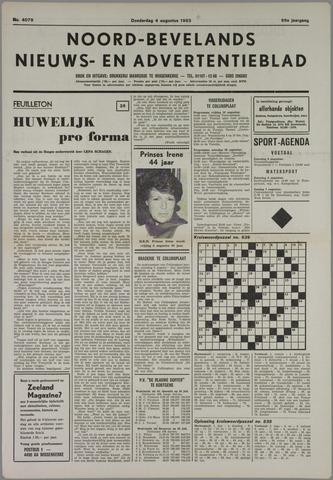 Noord-Bevelands Nieuws- en advertentieblad 1983-08-04