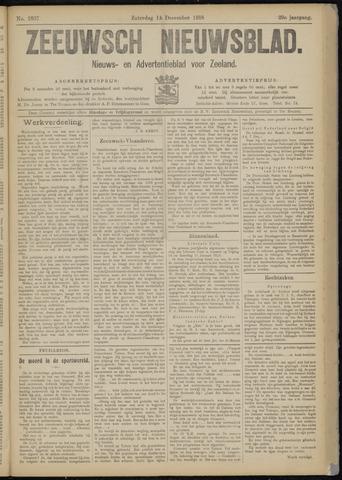 Ter Neuzensch Volksblad. Vrijzinnig nieuws- en advertentieblad voor Zeeuwsch- Vlaanderen / Zeeuwsch Nieuwsblad. Nieuws- en advertentieblad voor Zeeland 1918-12-14