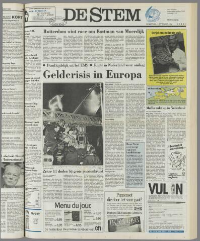 de Stem 1992-09-17
