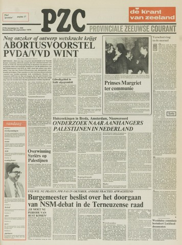 Provinciale Zeeuwse Courant 1976-09-30