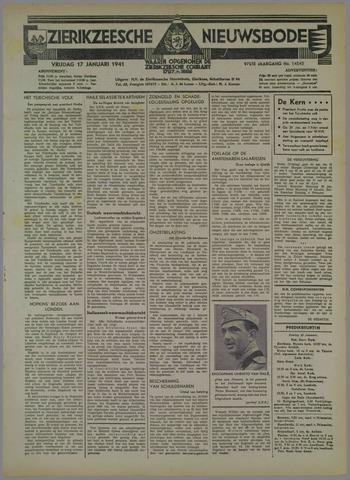 Zierikzeesche Nieuwsbode 1941-01-17