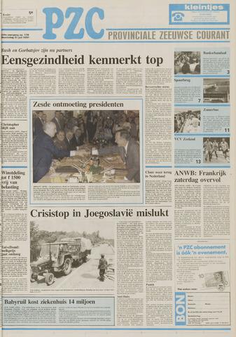 Provinciale Zeeuwse Courant 1991-07-31
