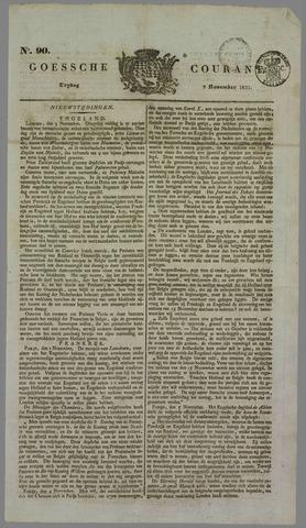 Goessche Courant 1832-11-09