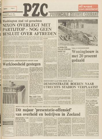Provinciale Zeeuwse Courant 1974-08-08