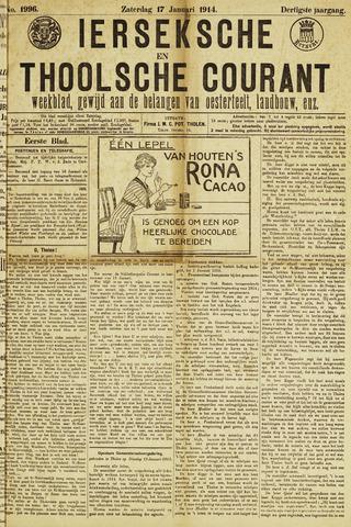 Ierseksche en Thoolsche Courant 1914-01-17