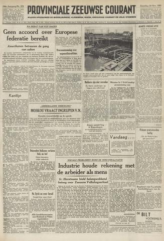 Provinciale Zeeuwse Courant 1951-11-24