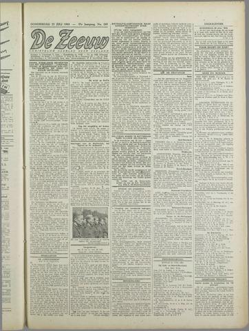 De Zeeuw. Christelijk-historisch nieuwsblad voor Zeeland 1943-07-22