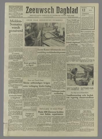 Zeeuwsch Dagblad 1958-03-12