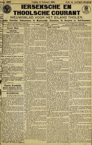 Ierseksche en Thoolsche Courant 1931-02-06