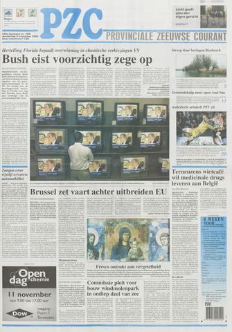 Provinciale Zeeuwse Courant 2000-11-09