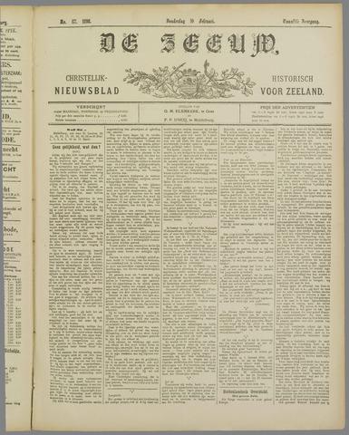 De Zeeuw. Christelijk-historisch nieuwsblad voor Zeeland 1898-02-10
