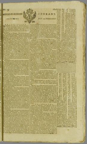 Middelburgsche Courant 1806-02-22