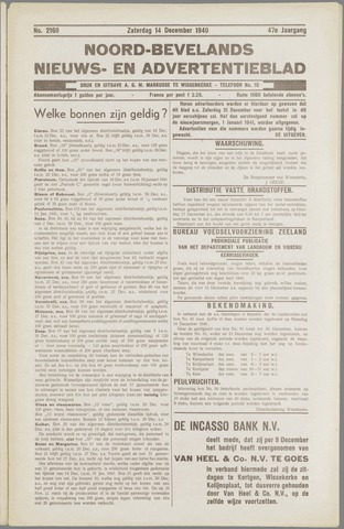Noord-Bevelands Nieuws- en advertentieblad 1940-12-14