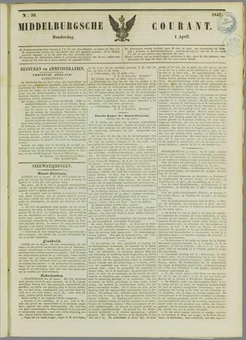 Middelburgsche Courant 1847-04-01
