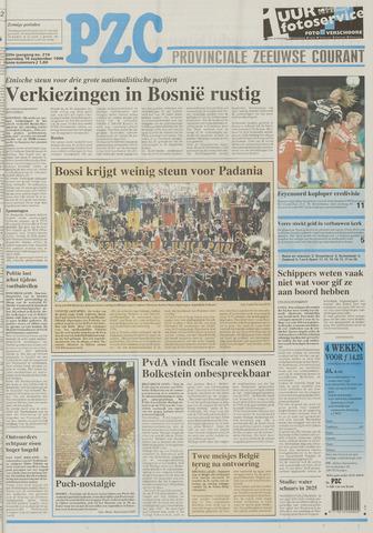Provinciale Zeeuwse Courant 1996-09-16