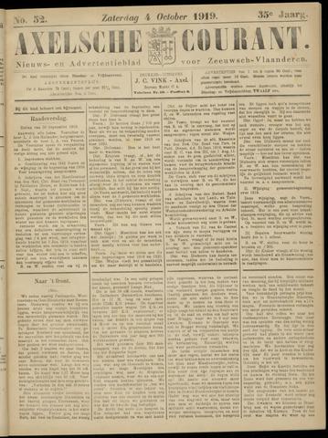 Axelsche Courant 1919-10-04