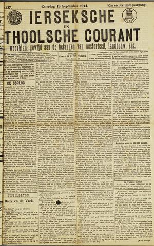 Ierseksche en Thoolsche Courant 1914-09-19