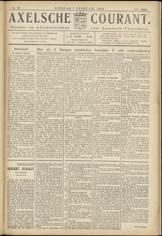 Axelsche Courant 1939-02-07