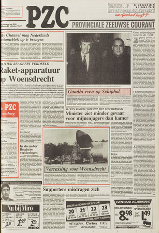 Provinciale Zeeuwse Courant 1987-10-22
