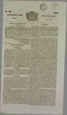Goessche Courant 1839-04-22