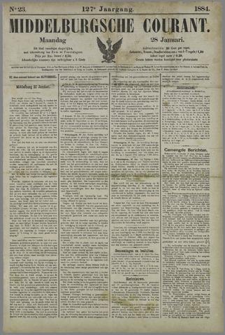 Middelburgsche Courant 1884-01-28