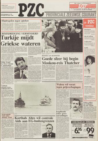 Provinciale Zeeuwse Courant 1987-03-30