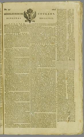 Middelburgsche Courant 1806-04-08