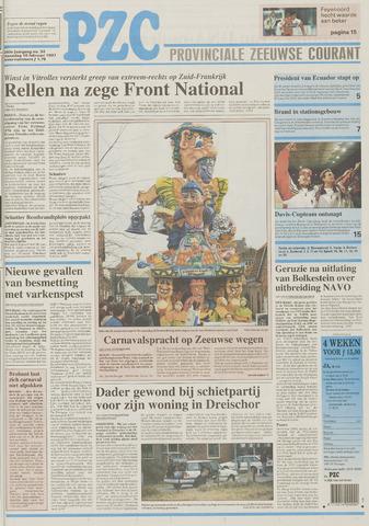 Provinciale Zeeuwse Courant 1997-02-10