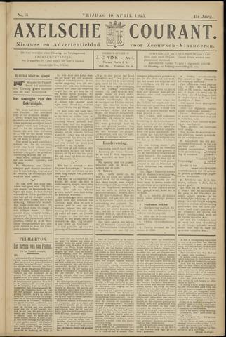 Axelsche Courant 1925-04-10