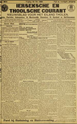 Ierseksche en Thoolsche Courant 1928-05-25