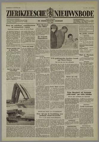 Zierikzeesche Nieuwsbode 1955-08-11