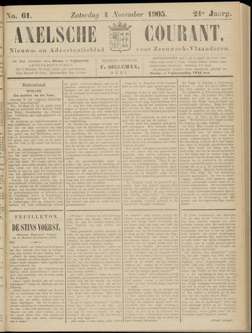 Axelsche Courant 1905-11-04