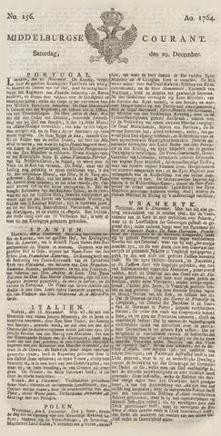 Middelburgsche Courant 1764-12-29