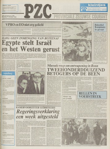 Provinciale Zeeuwse Courant 1981-10-12
