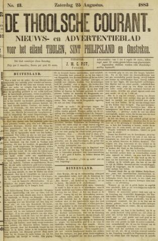 Ierseksche en Thoolsche Courant 1883-08-25