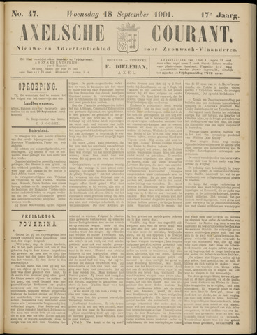 Axelsche Courant 1901-09-18