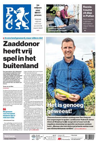 Provinciale Zeeuwse Courant 2019-10-01