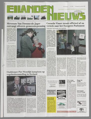 Eilanden-nieuws. Christelijk streekblad op gereformeerde grondslag 2007-11-20