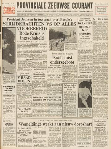 Provinciale Zeeuwse Courant 1968-01-27
