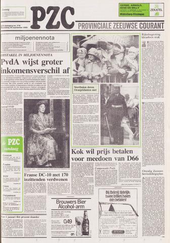 Provinciale Zeeuwse Courant 1989-09-20